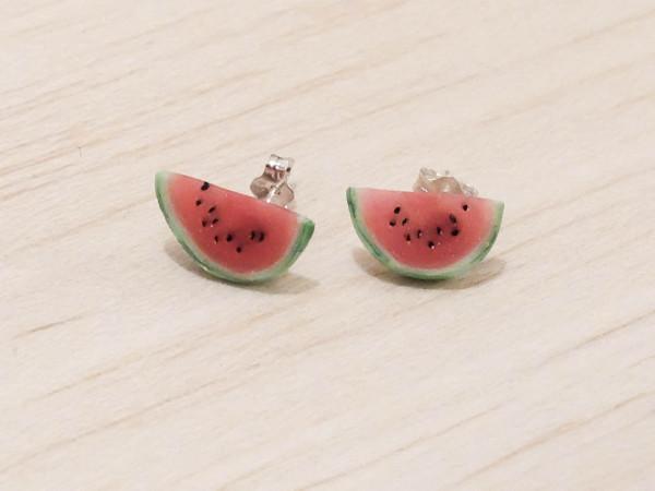 Melon - stiftörhängen bild