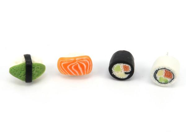 Sushi - stiftörhängen bild