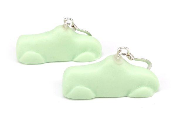 Ahlgrens bilar örhängen - Gröna bild