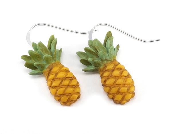 Ananas örhängen bild