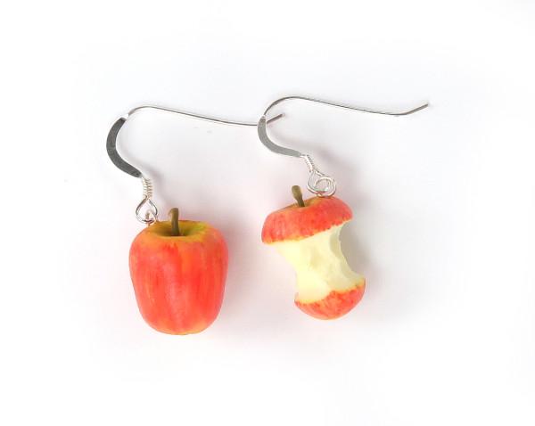 Äpple och skrutt - örhängen bild