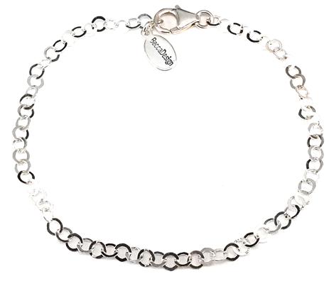 Armlänk i sterling silver (19 cm) bild