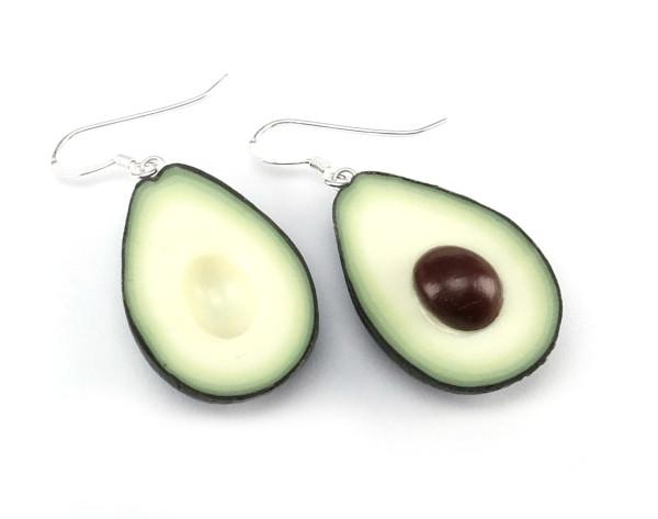 Avokado örhängen - STORA bild