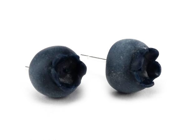 Blåbär stiftörhängen bild