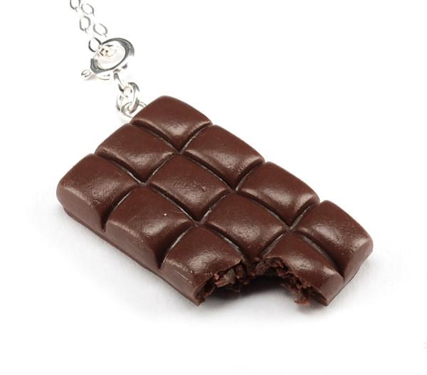 Chokladbar mörk choklad - Halsband bild