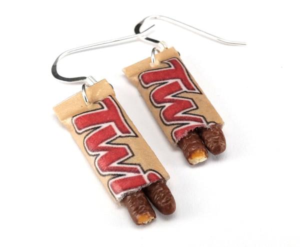 Chokladkakor med kola - Örhängen bild