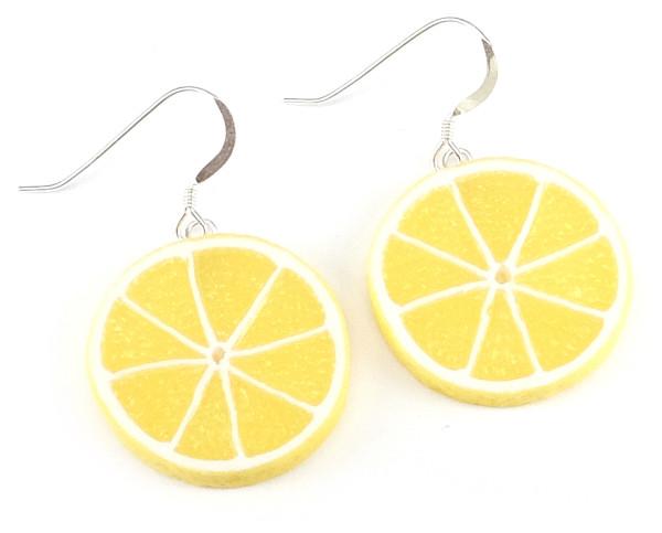 Citron örhängen bild