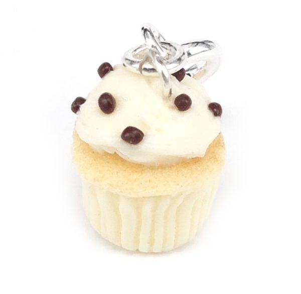Cupcake berlock - Citron med strössel bild