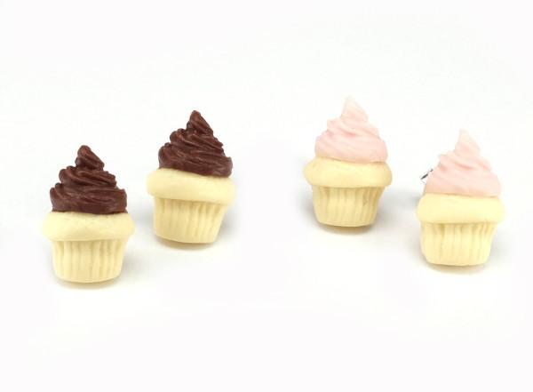 Cupcake - Stiftörhängen bild