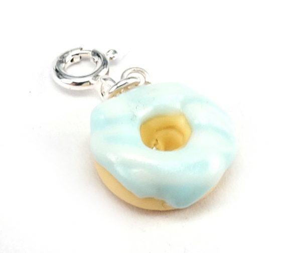 Donut berlock - mint bild