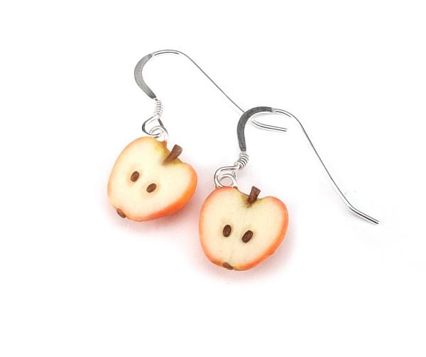 Äpplehalvor - örhängen bild