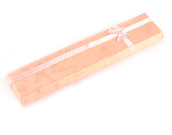 Presentask avlång rosa 20x4x2 cm bild