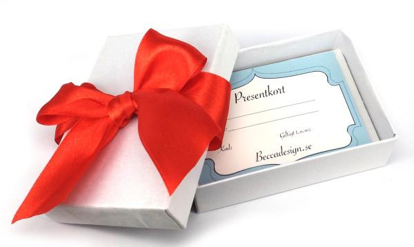 Presentkortslåda bild