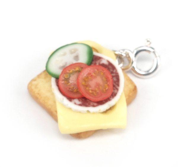 Smörgås med pålägg - berlock bild