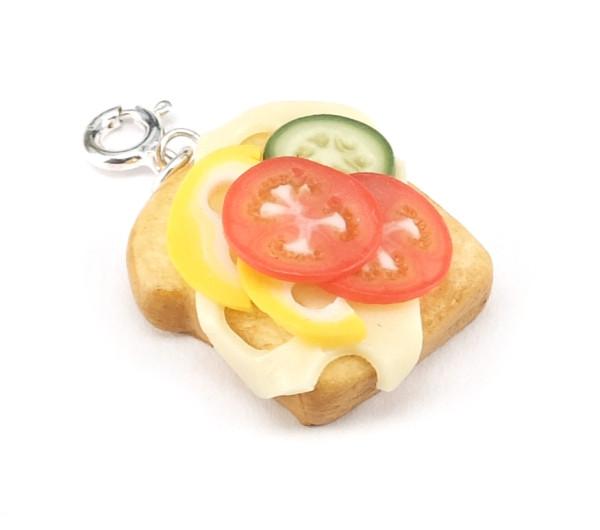 Smörgås berlock - STOR bild