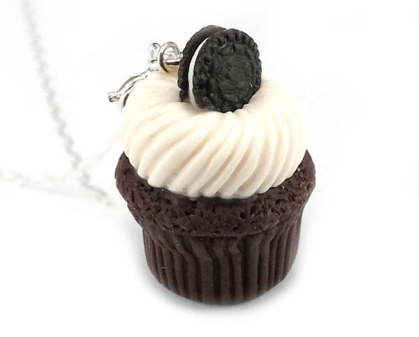 Cupcake halsband - oreo bild