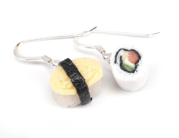 Sushi ägg & inside out - Örhängen bild